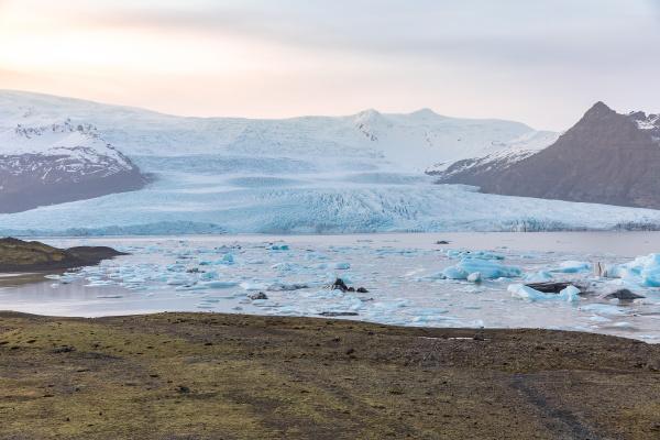 winter nationalpark island gletscher
