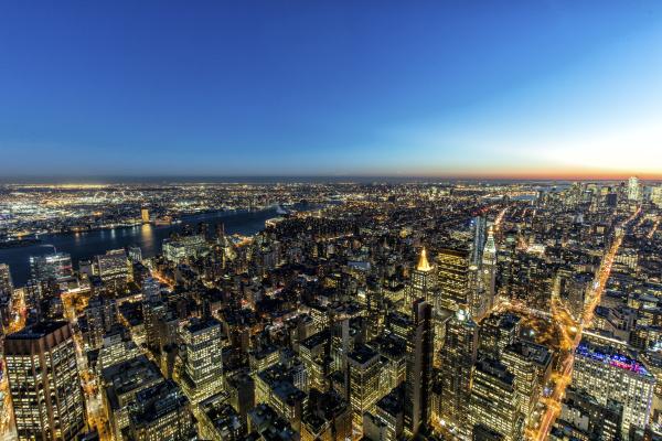 usa new york city stadtbild in
