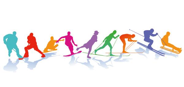 wintersport schlittschuhlaufen skilaufen snowboarder