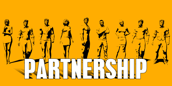 partnerschaftskonzept