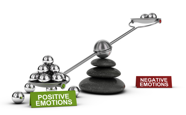 positive gefuehle und gesundes emotionales wohl