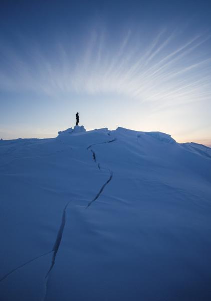 winter arbeitsstaette arktis dramatisch abenteuer werkstatt