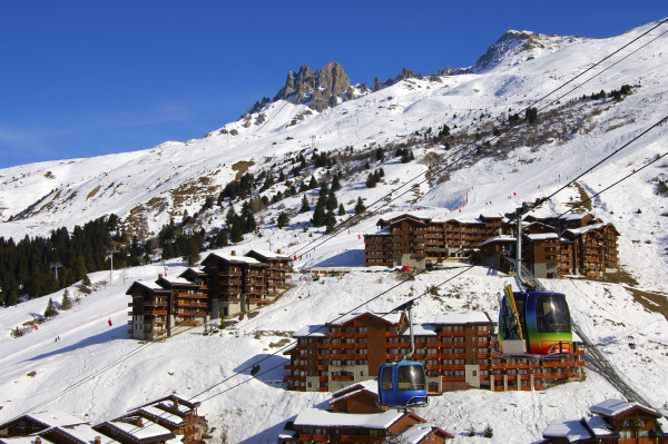 meribel mottaret skigebiet trois vallees
