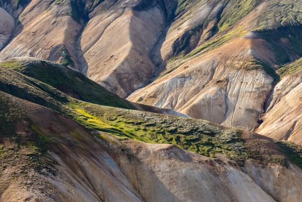 berge island vulkanisch landschaftsbild landschaft natur