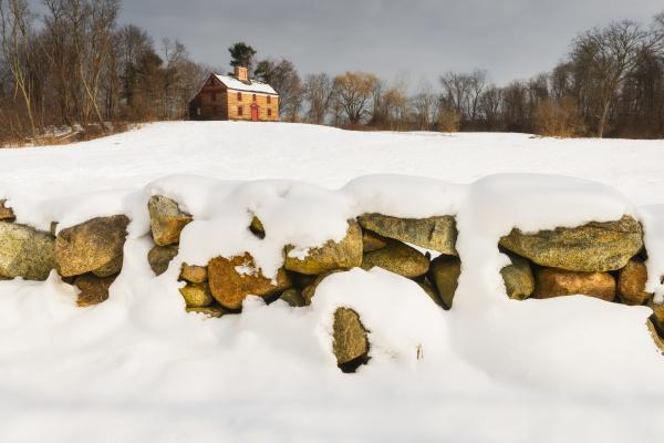 stein winter feld usa krieg mauer