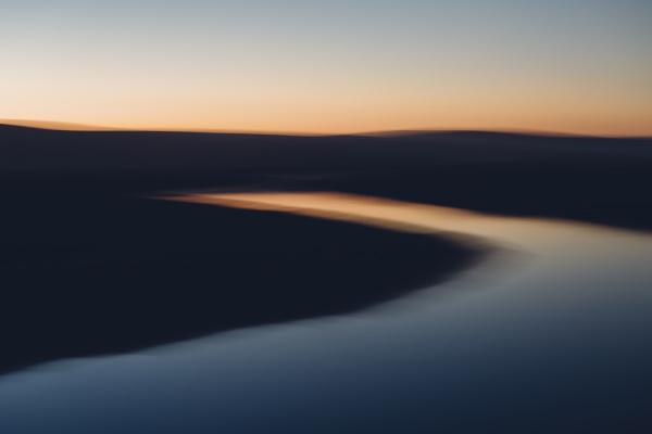 fahrt reisen umwelt nationalpark sonnenuntergang reflexion