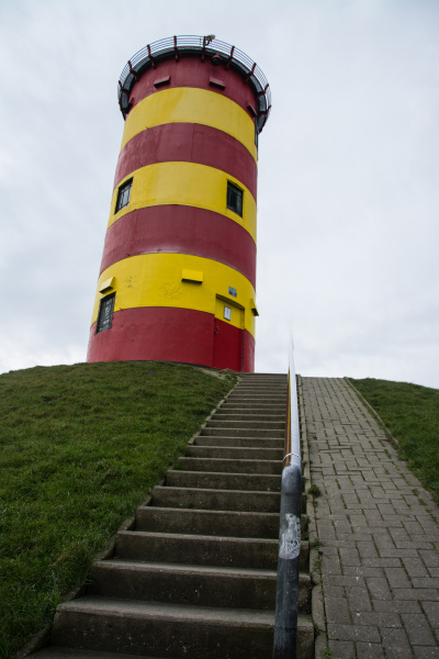 pilsumer leuchtturm niedersachsen deutschland