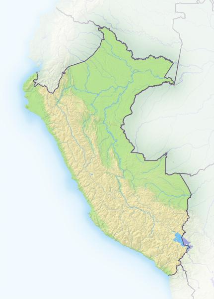 peru schattierte reliefkarte sudamerika