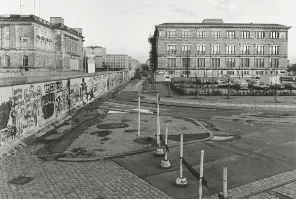 blick uber die berliner mauer 1985