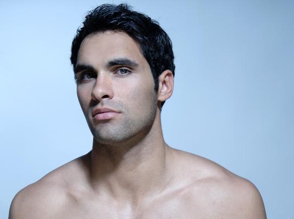 21 jahriger mann beautyportrat
