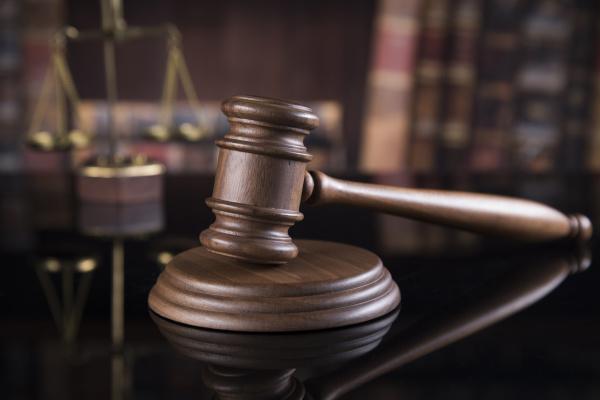 gavel law thema mallet des richterkonzepts