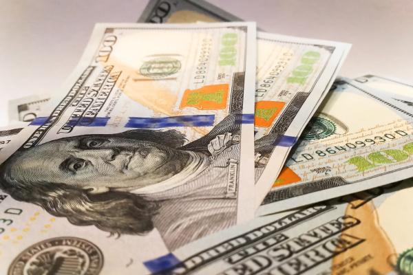 dollar dollars detail freisteller farbe model