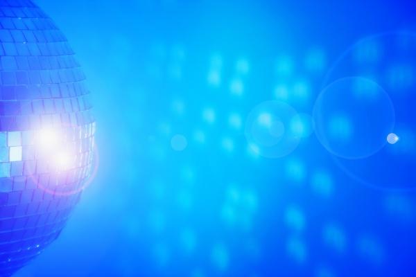 disco blau bewegung regung positionsaenderung translokation