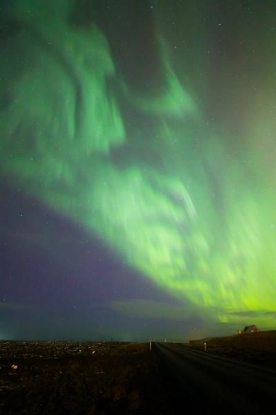 die northern light aurora borealis in