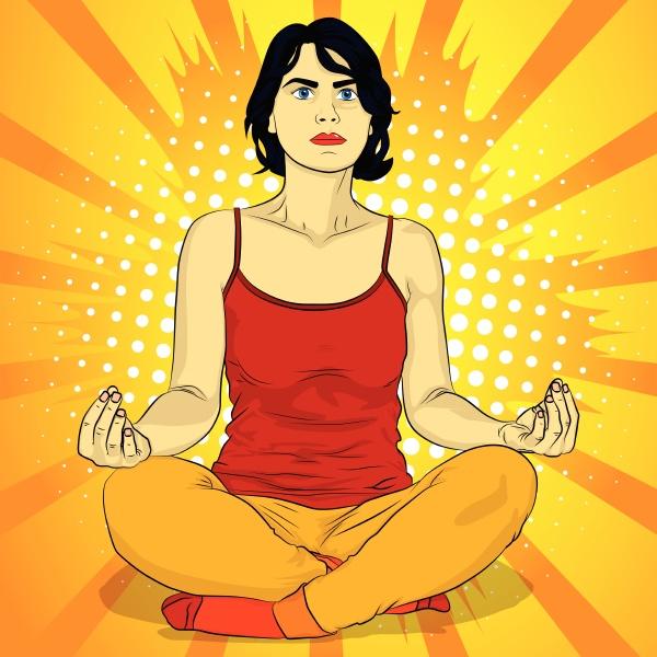 yoga konzept