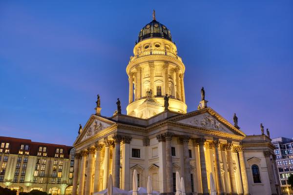die deutsche kirche am gendarmenmarkt in
