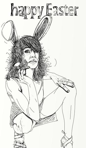 serie von realistischen erotischen comics mit