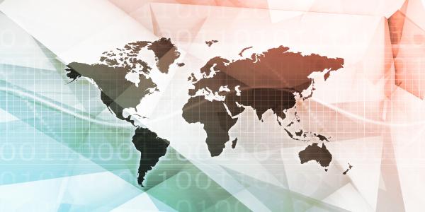 globale netzwerkverbindung und integrierte systemkunst
