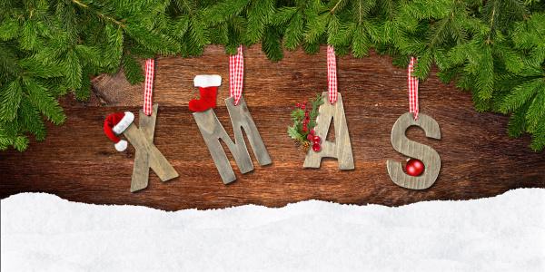 weihnachts beschriftung