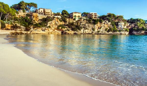 am strand von porto cristo mallorca