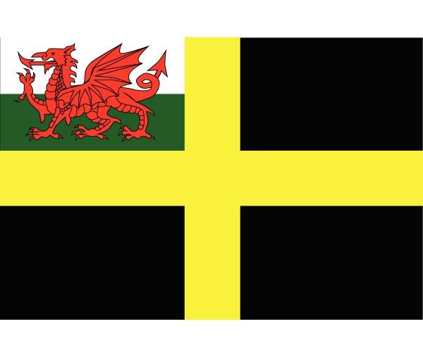 flagge von saint david
