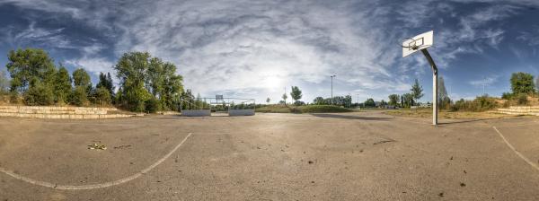 basketballboden 360 grad ansicht