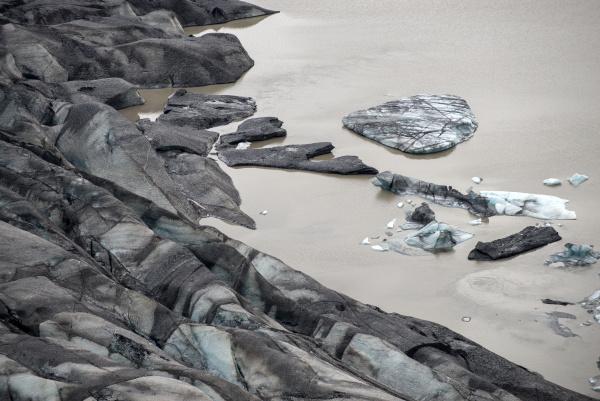 svinafellsjokull gletscher teil des vatnajokull