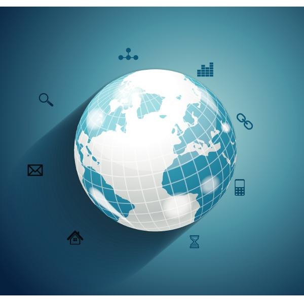 business world konzept moderne design vorlage