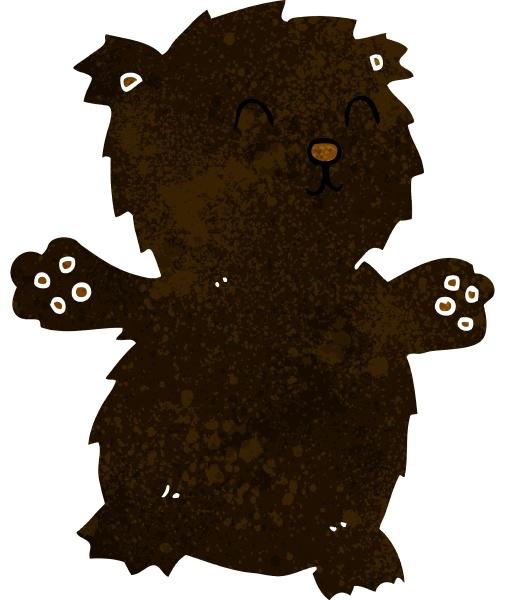 cartoon teddybaer
