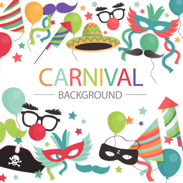 karneval zirkusmesse karneval zirkus messe vektor
