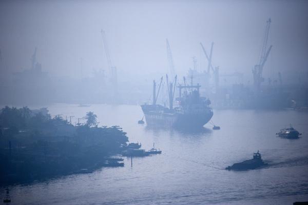 ship, on, song, sai, gon, river - 26801504