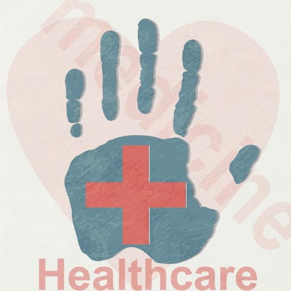 arm der medizin ein vektorhintergrund wohltaetigkeit