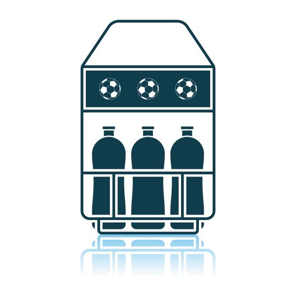 fussball flaschencontainer icon