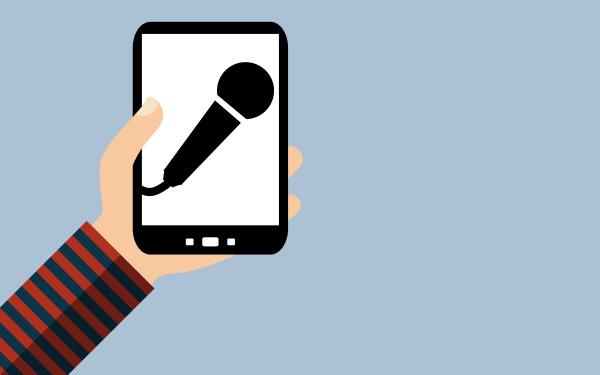 smartphone sprachaufnahme mit mikrofon