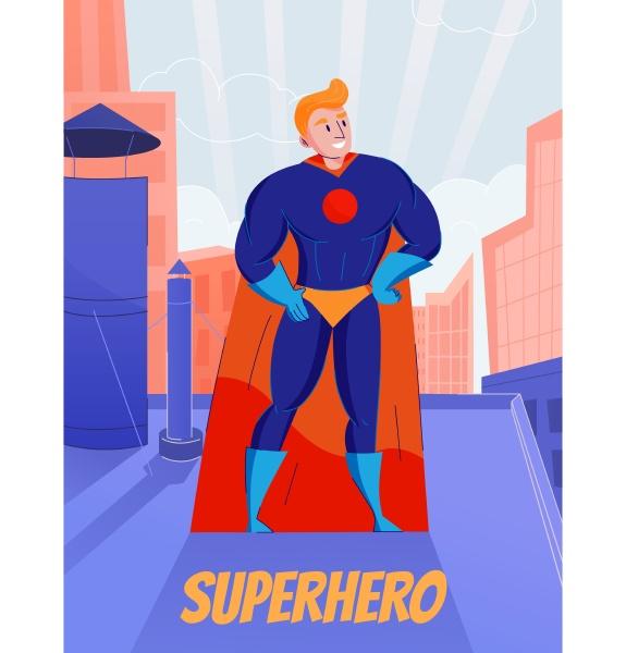 superhelden retro comic figur die in