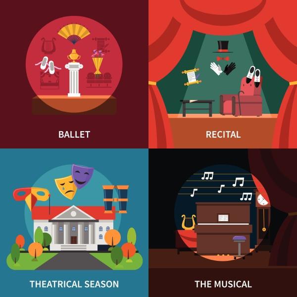 theaterkonzept ikonen mit ballettabend und musikalen
