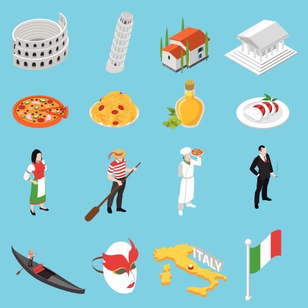 italienische sehenswuerdigkeiten und nationale kueche fuer