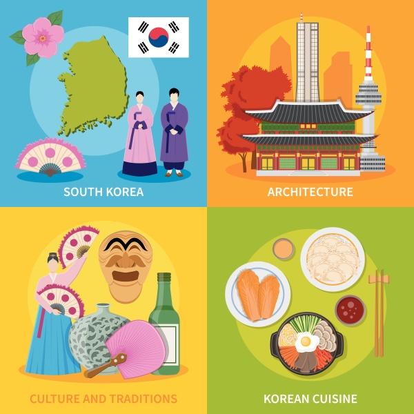 koreanische kultur traditionen symbole kueche karte