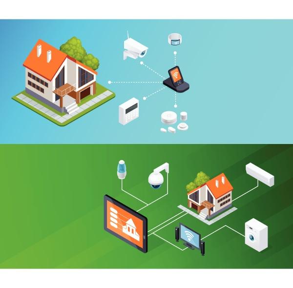 smart home smartphone ferngesteuerte elektronische haushaltsgeraete