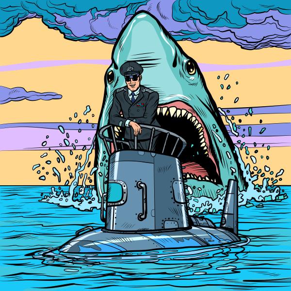 captain, of, the, submarine, , shark - 27382978