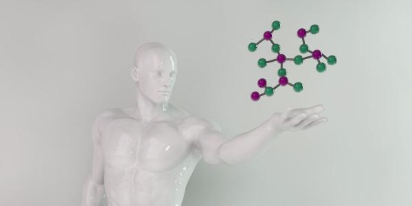 futuristische wissenschaft hintergrund