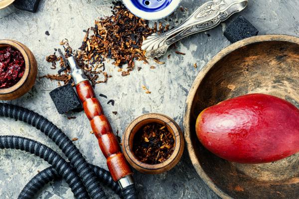 wasserpfeife rauchen details der orientalischen shisha