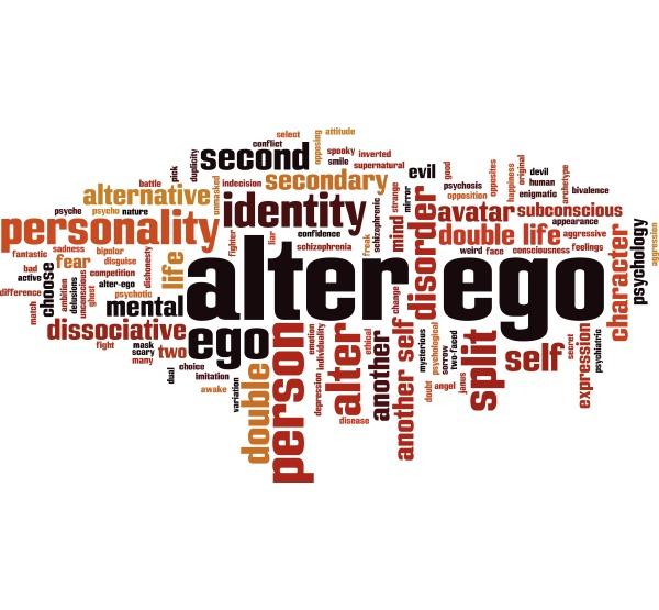 alter ego wort wolke