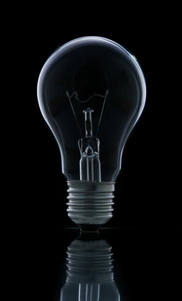 lampenlampe isoliert