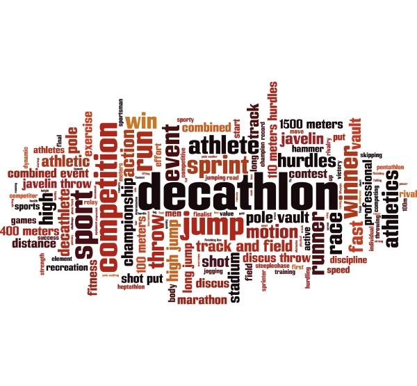 decathlon wort wolke