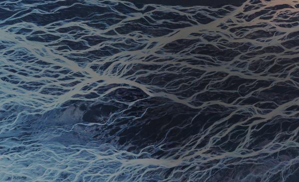 abstrakte luftaufnahme von skei ar rsandur