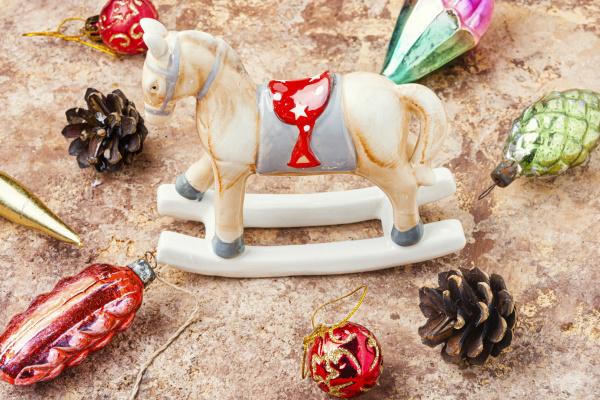 weihnachten vintage dekorationen