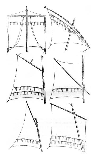 segeln bezieht sich quadrat lateinische segel