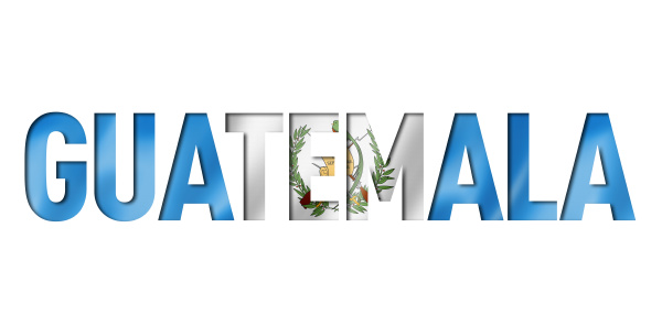 guatemala flagge text font