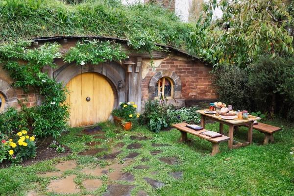 hobbiton film set